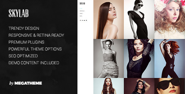 Skylab v3.0 — Portfolio / Photography WordPress Theme