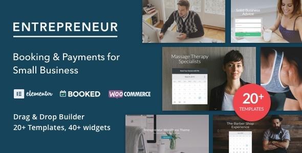 Entrepreneur v2.0.4 — Booking for Small Businesses