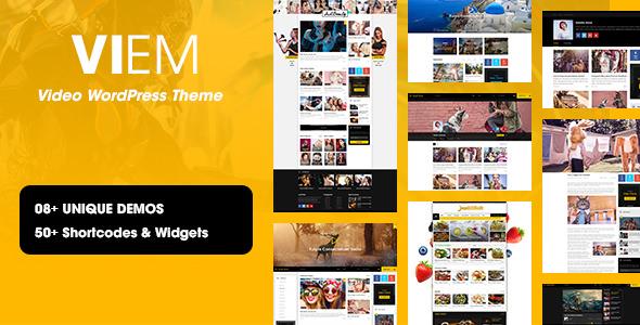 Viem v1.0.6 — Video WordPress Theme