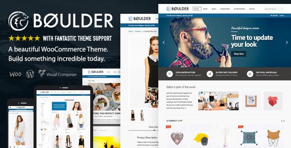 Boulder v1.8.3 — Multi-Purpose WooCommerce Theme