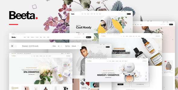 Beeta v1.0 — Multipurpose WooCommerce Theme