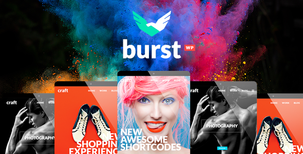 Burst v2.1 — A Bold and Vibrant WordPress Theme