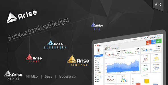 Arise Admin Dashboard v1.2