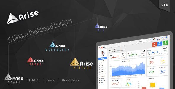 Arise Admin Dashboard v1.2