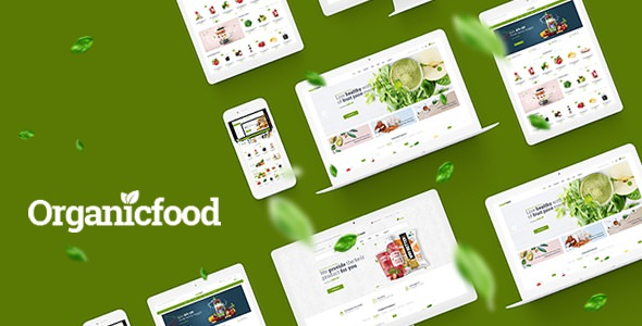 OrganicFood — Food, Alcohol, Cosmetics OpenCart Theme