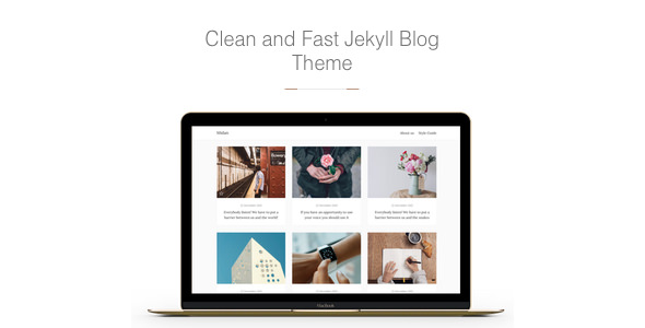 Midan v1.1.5 — Clean and Fast Jekyll Blog Theme