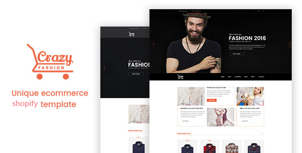 Crazy Fashion v1.0.1 — Shopify Responsive Theme