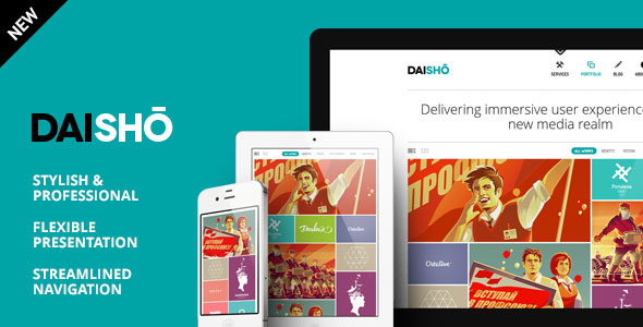 Daisho v3.1 — Flexible WordPress Portfolio Theme