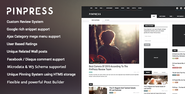 PinPress v1.3.3 — The New Blogging Experience