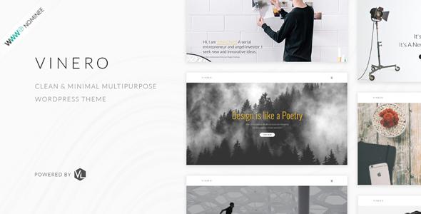 Vinero v2.1 — Creative MultiPurpose WordPress Theme