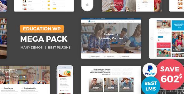 Education Pack v1.3 — Education Learning Theme WP