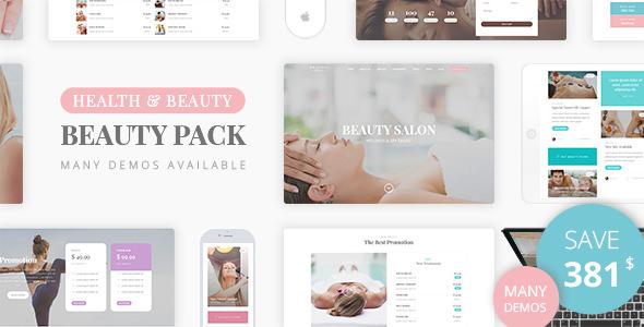 Beauty Pack v1.1 — Wellness Spa & Beauty Massage Salons WP