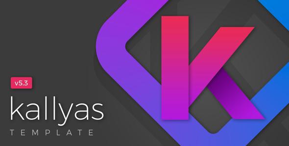 KALLYAS v5.3 — Gigantic Premium Multi-Purpose HTML5 Template + Page Builder