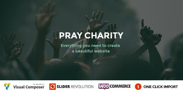 Pray v1.1 — Charity / Nonprofit / Fundraising WordPress