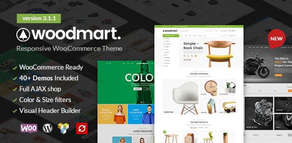 WoodMart v3.1.1 — Responsive WooCommerce WordPress Theme