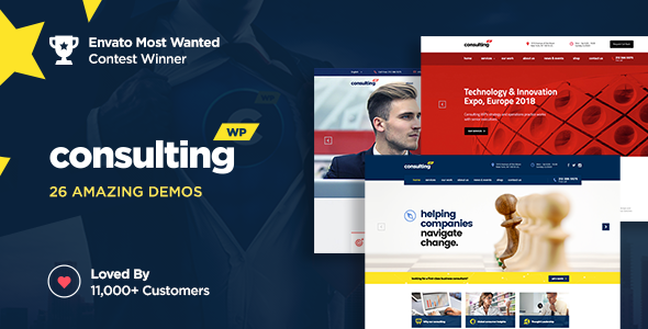 Consulting v4.1.7 — Business, Finance WordPress Theme