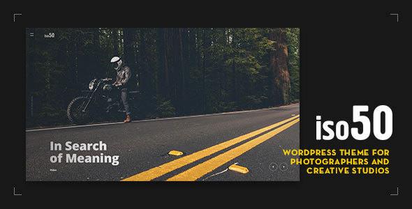 Iso50 v1.0.15 — Photography WordPress Theme