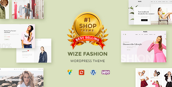 WizeStore v1.8 — WooCommerce Multipurpose Responsive Theme