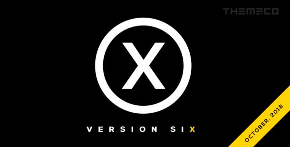 X v6.3.8 — Premium WordPress Theme