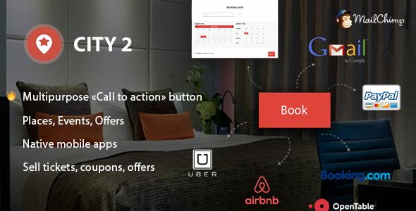 City2 v1.0.9 — Multipurpose Directory WordPress theme