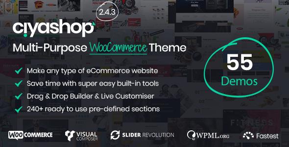 CiyaShop v2.4.1 — Responsive Multi-Purpose Theme