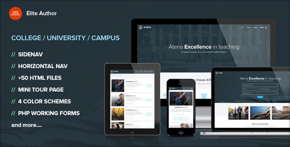 ATENA v1.3 — College, University and Campus template