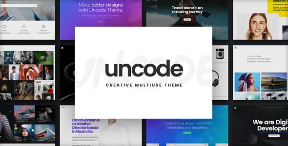 Uncode v1.9.2 — Creative Multiuse WordPress Theme