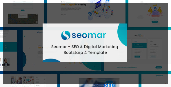 Seomar v1.0 — SEO Digital Marketing HTML Template