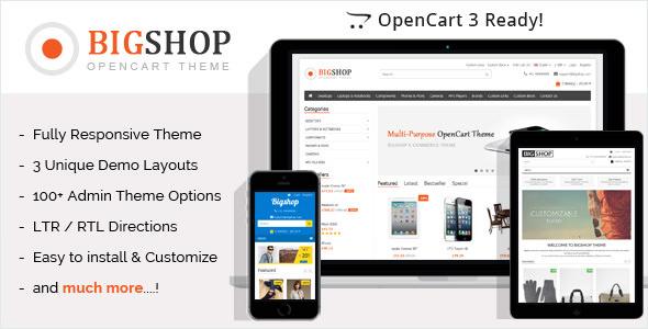 Bigshop v2.7 — Multi-Purpose Responsive OpenCart Theme