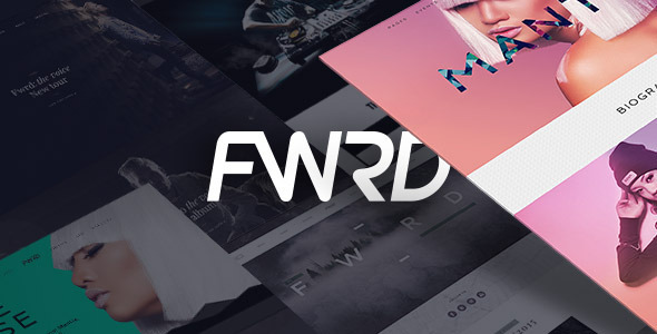 FWRD v2.0.9 — Music Band & Musician WordPress Theme