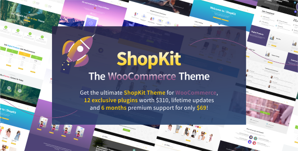 ShopKit v1.5.4 — The WooCommerce Theme