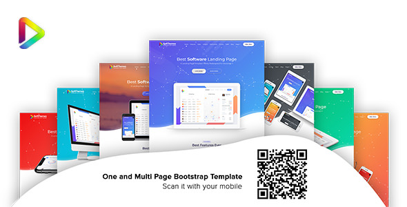 Soft Themez — Software Landing Page Template