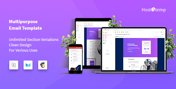 Hostetemp — Multipurpose Email Templates