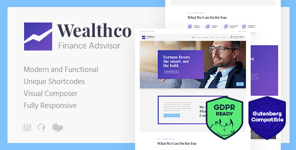 WealthCo v1.1 — Business & Financial Consulting Theme