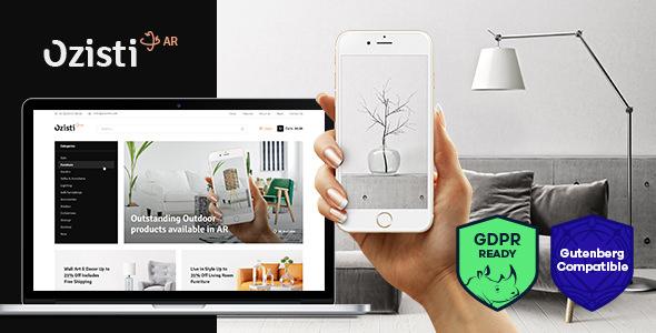 Ozisti v1.1.0 — A Multi-Concept WooCommerce WordPress Theme