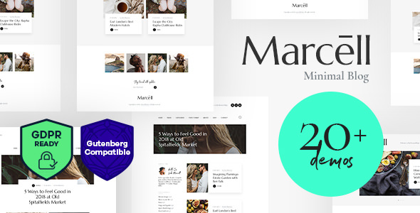 Marcell v1.1.1 — Multi-Concept Personal Blog & Magazine