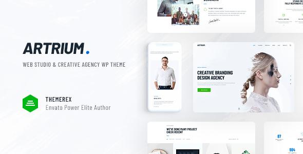 Artrium v1.0 — Creative Agency & Web Studio Theme