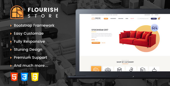 Flourish — eCommerce HTML5 Template