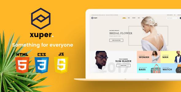 Xuper — eCommerce HTML5 Template