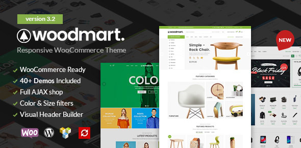 WoodMart v3.2.0 — Responsive WooCommerce WordPress Theme