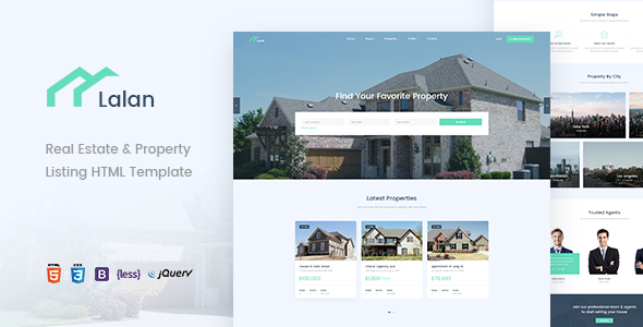 Lalan — Real Estate & Property Listing HTML Template