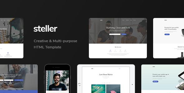 Steller — Multipurpose Landing Page With Builder