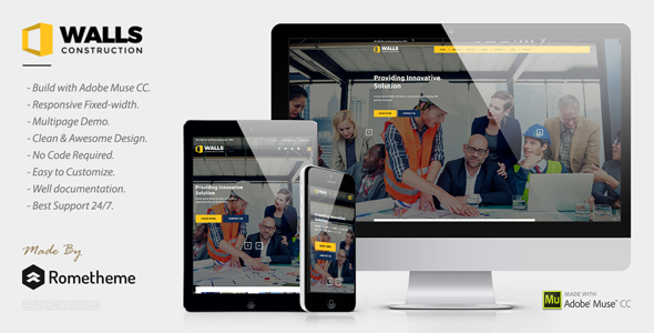 Walls — Construction MUSE Template