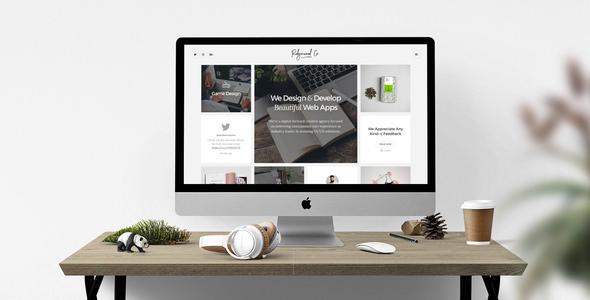 Ridgewood v1.0 — Contemporary Portfolio for Creatives