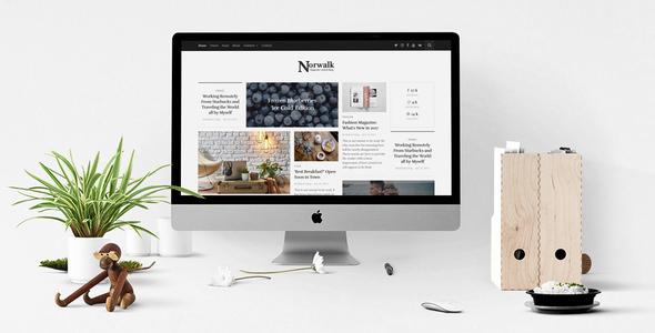 Norwalk v1.0 – Responsive Magazine-Styled Blog Theme