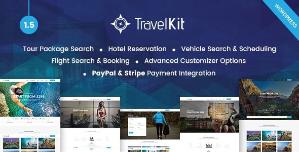 Travelkit v1.5 — The Full-fledged Tour & Travel Theme