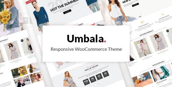 Umbala v1.4 — Stylish Fashion Clothing WooCommerce Theme