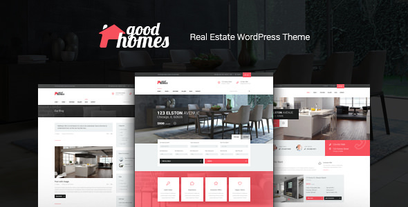 Good Homes v1.3.1 — A Contemporary Real Estate Theme
