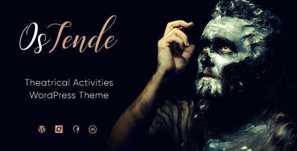 OsTende v1.1 — Theater WordPress Theme