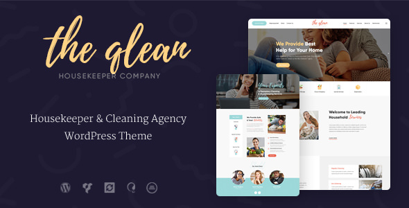 The Qlean v1.1.0 — Cleaning Company WordPress Theme